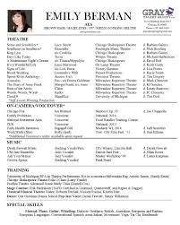 Resume Emily Berman