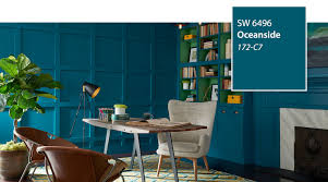 Sherwin Williams Color Chart 2018 Introducing The 2018 Color Of The Year Oceanside Sw 6496