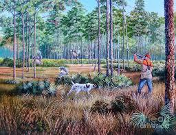 bob white quail painting quail hunting a southern tradition by daniel