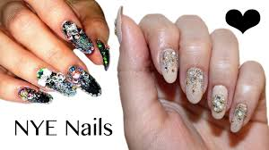 New Year's Eve Nails | Collab With Anna's Nail Art, Beauty ...