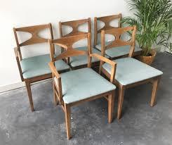 vintage mid century modern patio furniture. Broyhill Patio Furniture Elegant Set Of 5 Vintage Mid Century Modern Dining Chairs