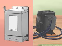 low voltage lighting transformer wiring diagram low how to install low voltage lighting 12 steps pictures on low voltage lighting transformer wiring