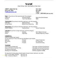 Sample Resume Word Document Free Download Or Modeling Resume