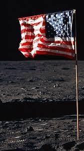 USA Flag Moon iPhone 6 Wallpaper HD ...