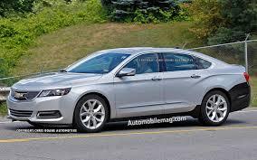 Spied: 2014 Chevrolet Impala Eco Gains A Volt-Like Grille