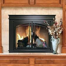 replace fireplace glass doors replacement ceramic frame
