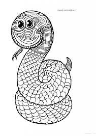 Mandala Da Colorare Per Bambini Il Serpente Disegni Mammafelice