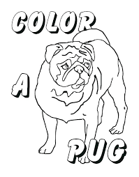 Pug Coloring Pages Pugs Coloring Pages Pug Coloring Pages Pug