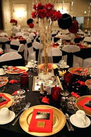 red and silver table decorations. Black And Gold Table Decorations Red For Silver