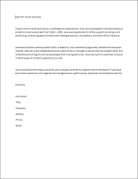 Writing Letters Of Recommendation Sample Letter Of Recommendation ...