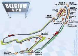 Die kurse sollten nicht länger als 7 km sein. F1 Spa Belgien Tailorsport