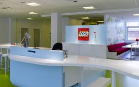 beautiful office design. Lego Reception Desk Beautiful Office Design