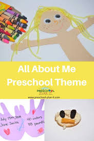 Shapes Chart For Nursery All About Me Preschool Activities Theme