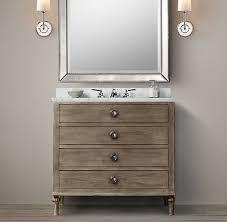 maison single vanity sink bathroom 910 600 860 restorationhardware com