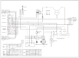 chinese 125 atv cdi wiring diagram ac electric scooter diagram taotao 110cc atv wiring diagram at Tao Tao 125cc 4 Wheeler Wiring Diagram