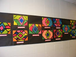 This Little Class of Mine Navajo Rug Paintings