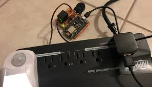 esp8266 first project home automation relays switches pwm this could be used to control for example a desk lamp connected to the ac outlet testing a nightlight