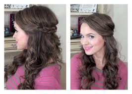 Simple Half Up Hairstyle My Bridesmaids Hairstyles Youtube