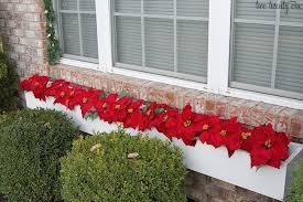 Christmas Window Box Decorations Outdoor Christmas Decorations 14