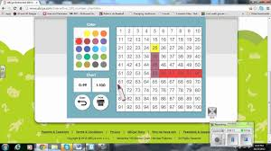 Abcya 100 Chart Adding And Subtracting Hundreds Chart 2nd Grade Math