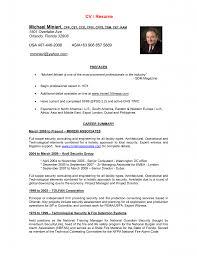 Curriculum Vitae Resume Bestresume Com