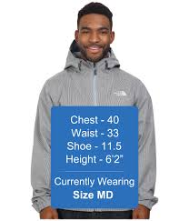 The North Face Millerton Jacket Worn Blue Texture Mens