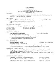 Pleasing Resume Engineering Students Examples In Sample Resume