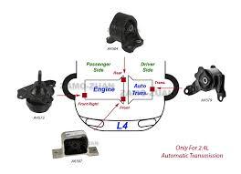 denso oxygen sensor on shoppinder 2003 2011 fits honda element 2 4l motor trans mount kit 4pcs for