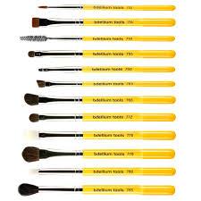 bdellium tools studio line eyes brush set and pouch 12 pc set