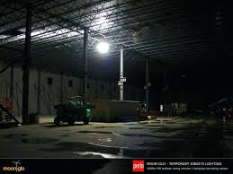 full image for perlo construction using moonglo balloon lights for temporary job site lighting in newly