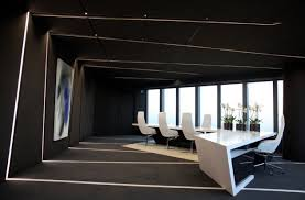 minimalist office design. 25 Luxury And Unusual Minimalist Office Designs Lineas Espacio Cambio Direccion Negro Design