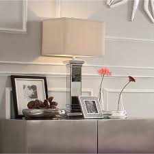 Felton 3-way Crystal Mirror Base 1-light Accent Table Lamp by iNSPIRE Q  Bold by iNSPIRE Q
