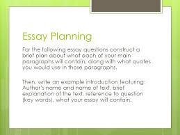of mice and men revision question types there are a few banker 10 essay planning for the following essay questions
