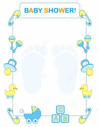 baby shower invitation blank templates invitations for baby shower template party xyz