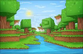 drawn background minecraft 5