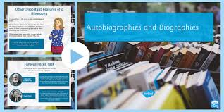 powerpoint biography autobiography and biography powerpoint autobiography and
