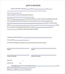 Quick Deed Form Awesome 48 Quitclaim Deed Forms Samples Examples Format Sample Templates