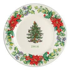 Amazon.com | Spode Christmas Tree 2016 Annual Edition Collector Plate,  Multicolor: Accent Plates