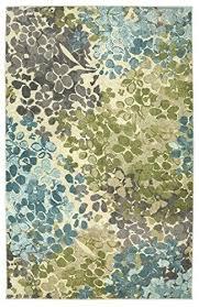 mohawk area rugs 5x8 home aurora radiance abstract fl printed rug aqua