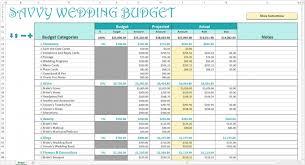 Budgeting For Wedding Excel Spreadsheet Formulas For Budgeting Estimating Emergentreport