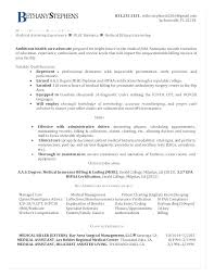Example Of A Medical Assistant Resume Templates