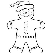 Gingerbread Man Coloring Pages Worldtaxiserviceclub