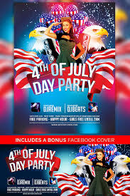 4th July Poster And Flyer Psd Template Download Free Flyer