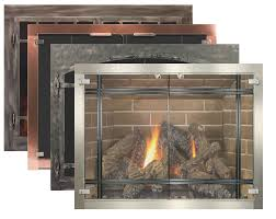 innovative ideas wood burning fireplace doors with blower glass fireplace doors by stoll fireplace inc