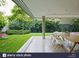 kogan furniture. Architect: Studio MK27- Marcio Kogan, 2012. Ground Floor Interior Open To Garden. Kogan Furniture