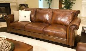 top grain leather furniture. ELEMENTS Fine Home Furnishings Paladia Top Grain Leather Sofa Rustic And Furniture