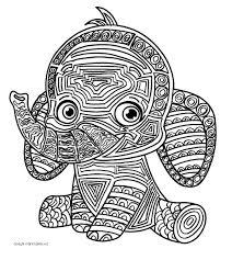 Mandala Per Bambini Da Colorare Lelefante Disegni Mammafelice