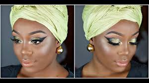 african princess makeup tutorial green and black cat eye smokey eye all makeupgeek shadows