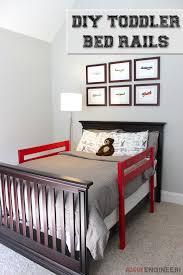 DIY Toddler Bed Rail | Rogue Engineer DIY Plans | Diy toddler bed ...