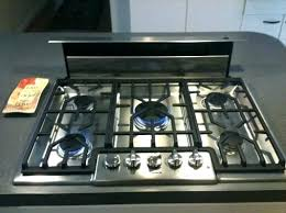 36 inch gas cooktop with downdraft. Perfect Inch 36 Inch Gas Stove Top Downdraft Best Contemporary Electric Cooktop With  Griddle  Inside Inch Gas Cooktop With Downdraft I